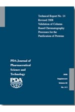 PDA Technical Report No. 14, (TR 14) Validation of Column-Based Chromatography Processes for the Purification of Proteins
