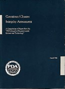 Container/Closure Integrity Assessment A Compilation of Papers from the PDA Journal of Pharmaceutical Science and Technology (paper ship version)