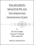 Validation Master Plan: The Streetwise Downtown Guide (single user digital version)