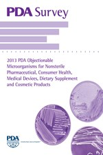 PDA Survey: 2013 PDA Objectionable Microorganisms for Nonsterile Pharmaceutical, Consumer Health, Medical Devices, Dietary Supplement and Cosmetic Products (single user digital version)