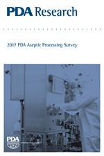 PDA Research: 2017 PDA Aseptic Processing Survey (single user digital version)