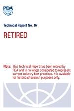 PDA Technical Report No. 16, (TR 16) Effect of Gamma Irradiation on Elastomeric Closures (single user digital version)