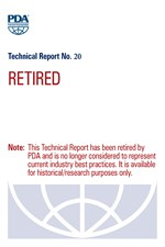 PDA Technical Report No. 20, (TR 20) Report on Survey of Current Industry Gowning Practices (single user digital version)