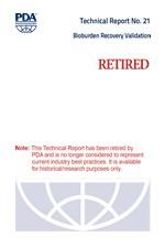PDA Technical Report No. 21, (TR 21) Bioburden Recovery Validation (single user digital version)